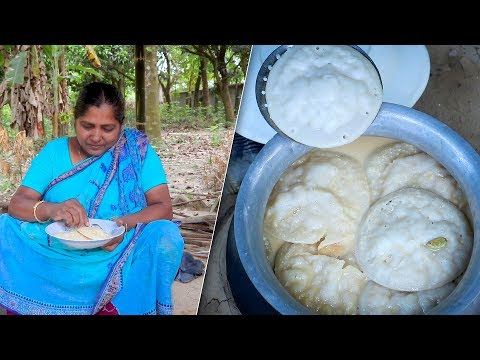 Traditional Milk Cake: Bengali Chitoi Pitha with Milk Syrup in Village Cooking Recipe