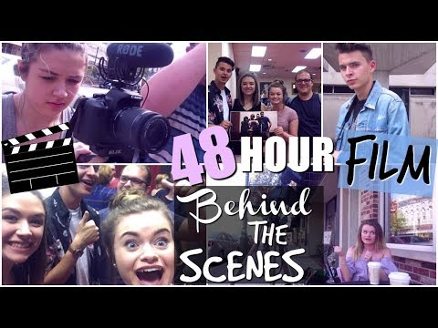 BEHIND THE SCENES- Making A Film in 48 Hours!