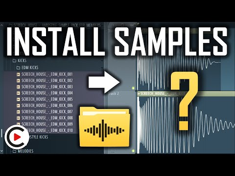 SAMPLE PACK TUTORIAL   How to Install Sample Packs in FL Studio   How to Use Samples in FL Studio
