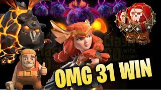Queen Walk LavaLoonion Wall Wrecker TH12 Attack Strategy