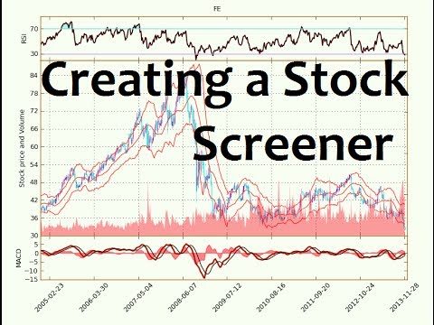 Python Programming Tutorial - How to Make a Stock Screener