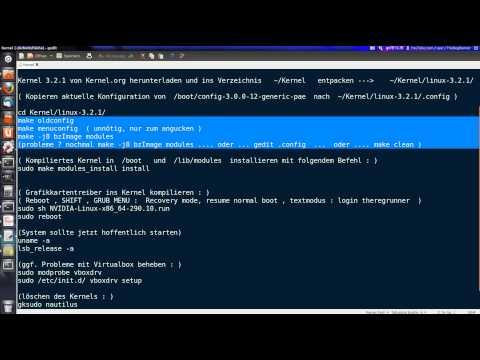 Linux Ubuntu :  Kernel kompilieren