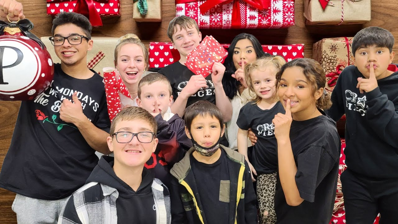 Christmas Shopping for Siblings Tradition   Secret Santa Shopping