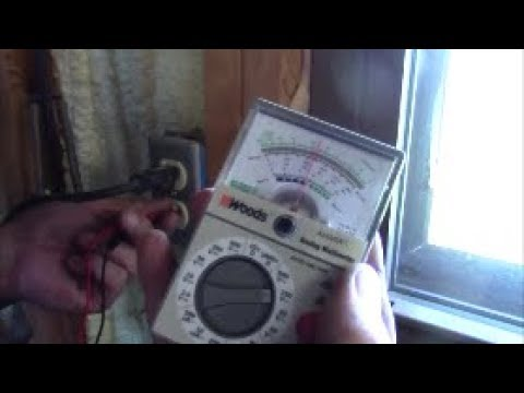 Multimeter use – voltage, continuity, resistance – and brown-outs