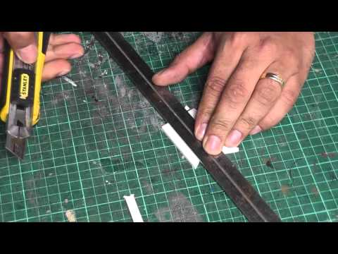 BUA - Cutting foamboard cleanly