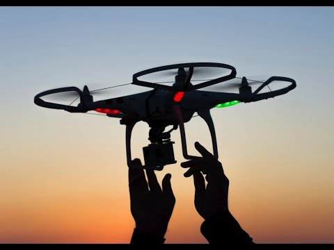 Hand motion controlled drone(awesome Demo!)