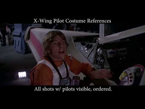 Cosplay X-Wing Pilot Best ANH Reference available!