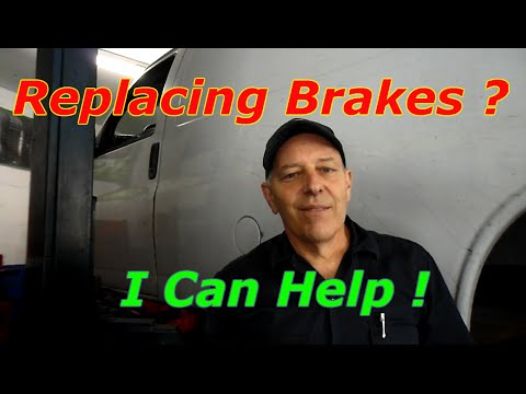How to replace front and rear brakes on a 2002 Chevy Express Van