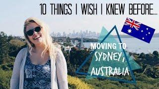10 Things I Wish I Knew Before...Moving to Australia | Elisabeth Beemer