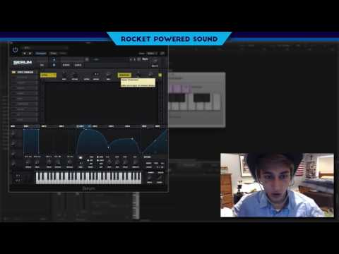 Skrillex Vocal Growl Bass Serum Tutorial [Rocket Powered Sound]