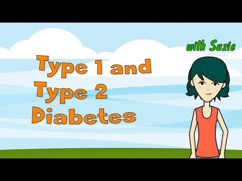 Type 1 and Type 2 Diabetes