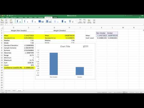 Custom Error Bars Excel Data Analysis Toolpack
