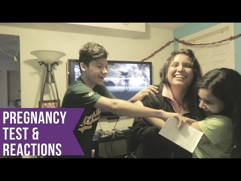 Live Pregnancy Test and My Families Reaction to Twins