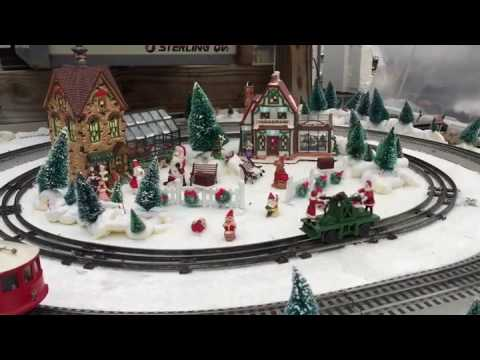 Puritas Nursery Holiday Train Display