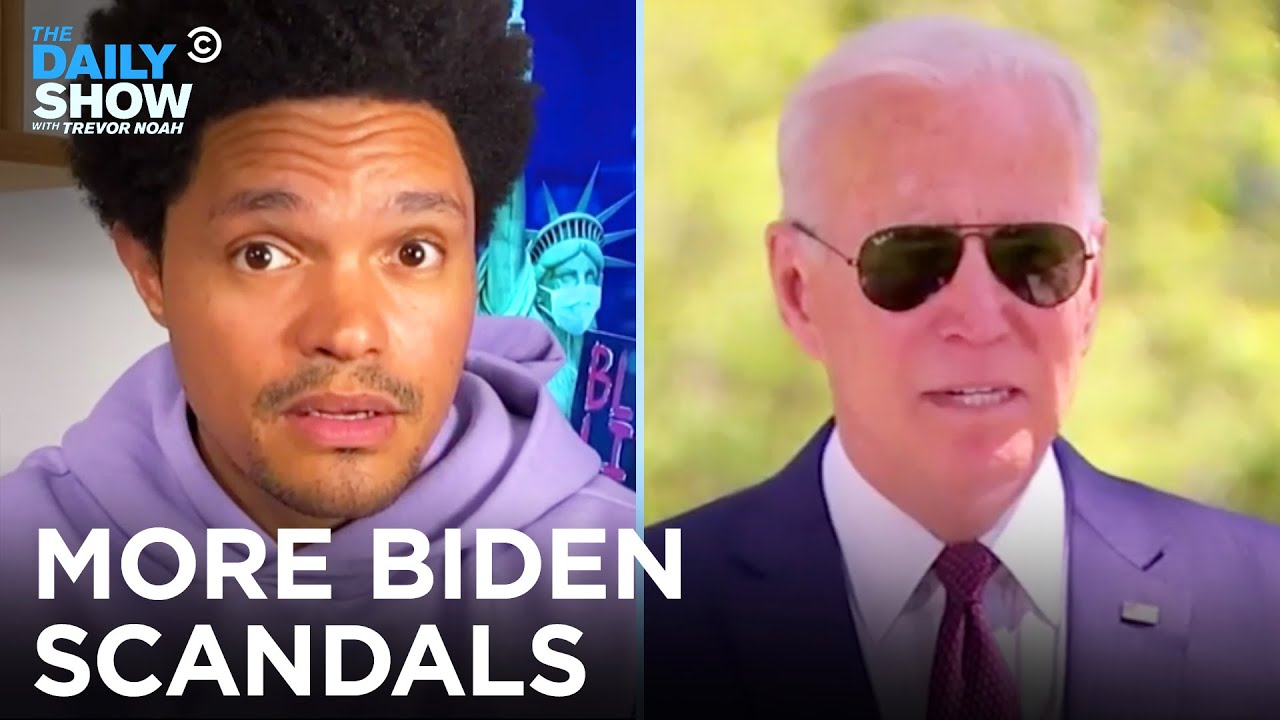 Scandal Alert! Biden's Red Meat Mandate & Kamala's Children's Book   The Daily Show