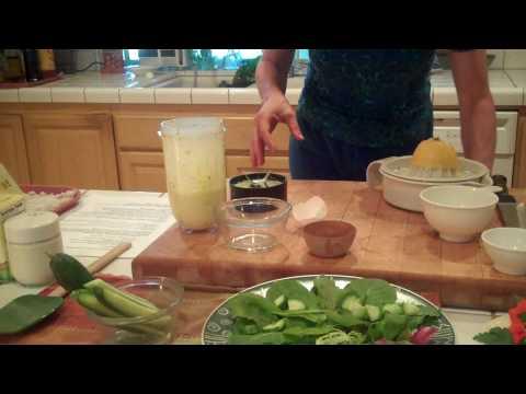 how to make a creamy salad dressing
