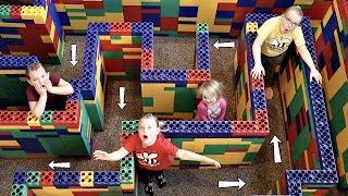 Download ESCAPE the Giant LEGO MAZE! Video
