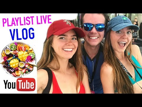 A Day In The Life At PLAYLIST LIVE 2018 (VLOG)