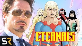 Download Marvel Theory: Iron Man 3 Introduced The Eternals To The MCU Video