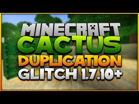 Minecraft: Cactus Duplication TUTORIAL [1.7.10]