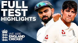 Cook's Final Innings And Anderson Breaks The Record! | England v India HIGHLIGHTS - The Oval 2018