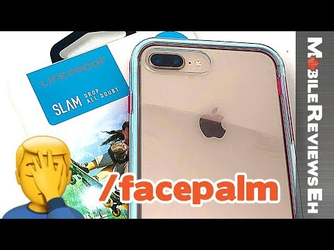 YIKES... - LifeProof SLAM Review  - iPhone X and iPhone 8