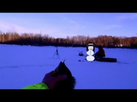 Ice Fishing Bluegill, December 28 2013