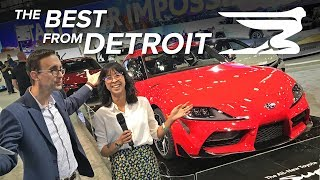 Download The Best Cars from the 2019 Detroit Auto Show Video