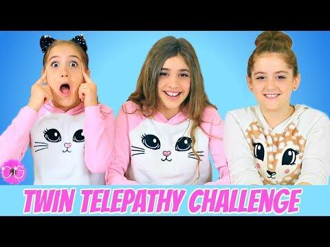 Twin Telepathy Challenge - Hilarious!