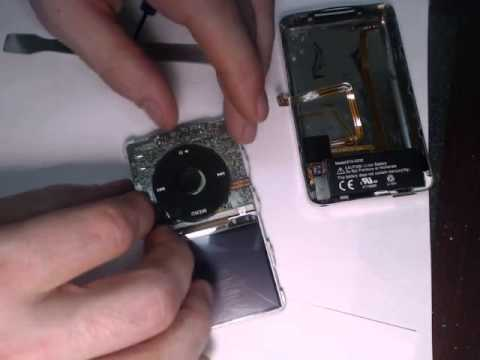 Positioning the Center Button on iPod Classic Wheel