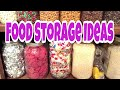 Storage ideas for your FOOD STORAGE - part 2 Great for PREPPERS!