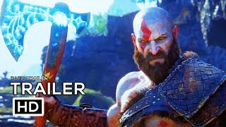 GOD OF WAR 4 Cinematic Trailer (2018) PS4 Game HD