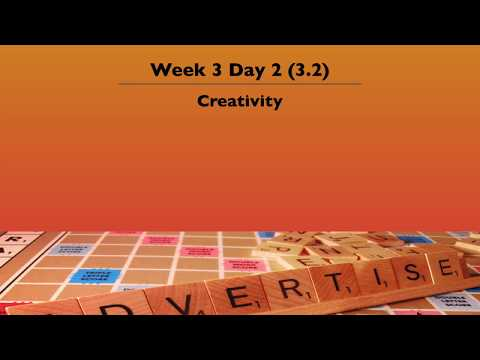 3.2 Creativity