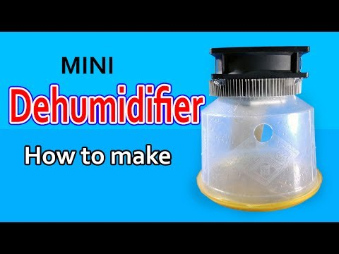 Dehumidifier for small Room | How to make