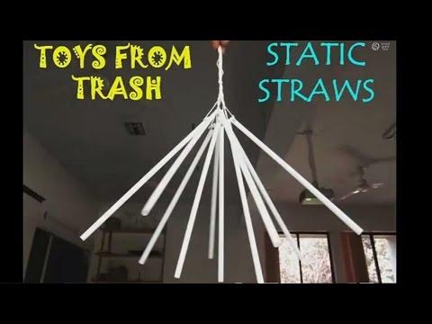 STATIC STRAWS - MARATHI - Fun with Static Electricity!