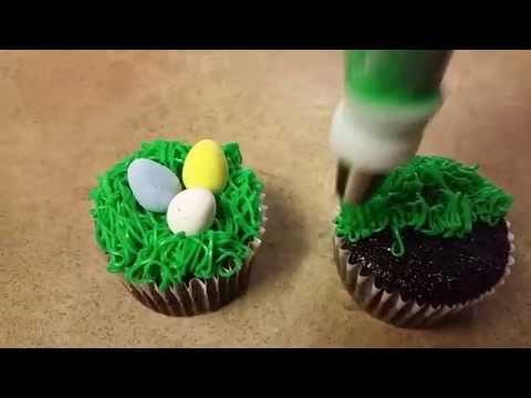 Easy easter cupcake tutorial