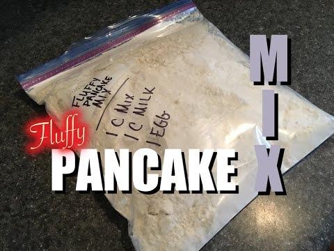 TSC: How to Make Homemade Fluffy Pancake Mix