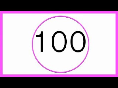 Learn Numbers | Count to 100 by 10 | Easy English Counting Practice.
