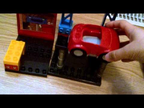 Mega Bloks Blok Town Garage Set Review