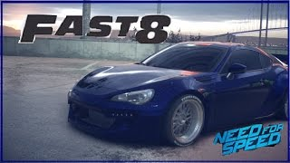 Fast & Furious 8 Subaru BZR Premium - NEED FOR SPEED 2015 - PS4