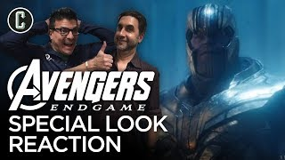 Download Avengers: Endgame Special Look Reaction & Review Video