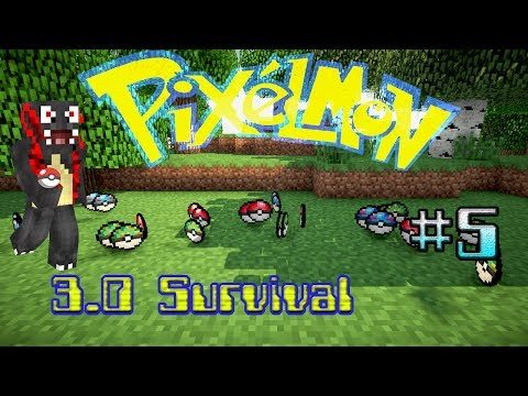 Pixelmon 3.0 Survival - Episode 5 - PokeBalls!