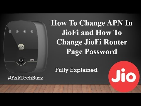 All JioFi, How To Change APN and JioFi Router Page Password, Jio, Edit In Settings