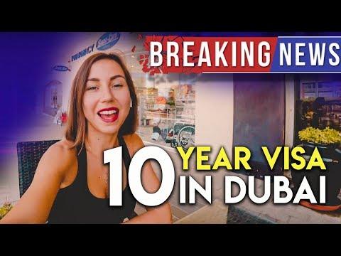 Dubai: 10-Year Residency Visa for professionals, UAE 2018.