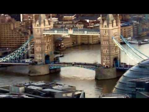 Views from, the aqua shard, restaurant, the Shard, London Bridge, London1