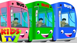 wheels on the bus | bus song | nursery rhymes for kids and children | baby rhymes  | bus rhymes