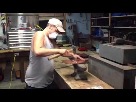 Soldering Copper Sheet Metal
