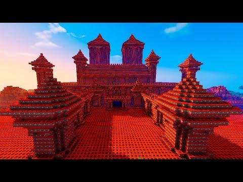Minecraft CASTILLO DE TNT | EXPLOSIÓN DE 1.706.000 TNT!!