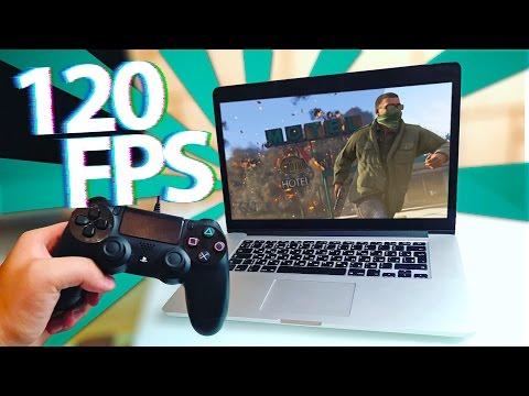Игровой MacBook 120 FPS