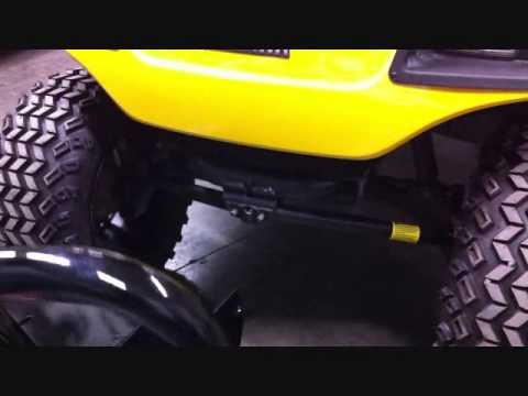 Jake's Winch Mount Bumper Install for Yamaha G14, G16, G19, and G21 Golf Carts